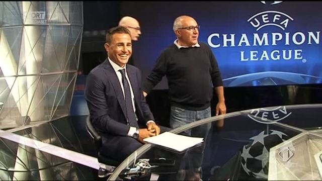 Cannavaro, il backstage dell'esordio