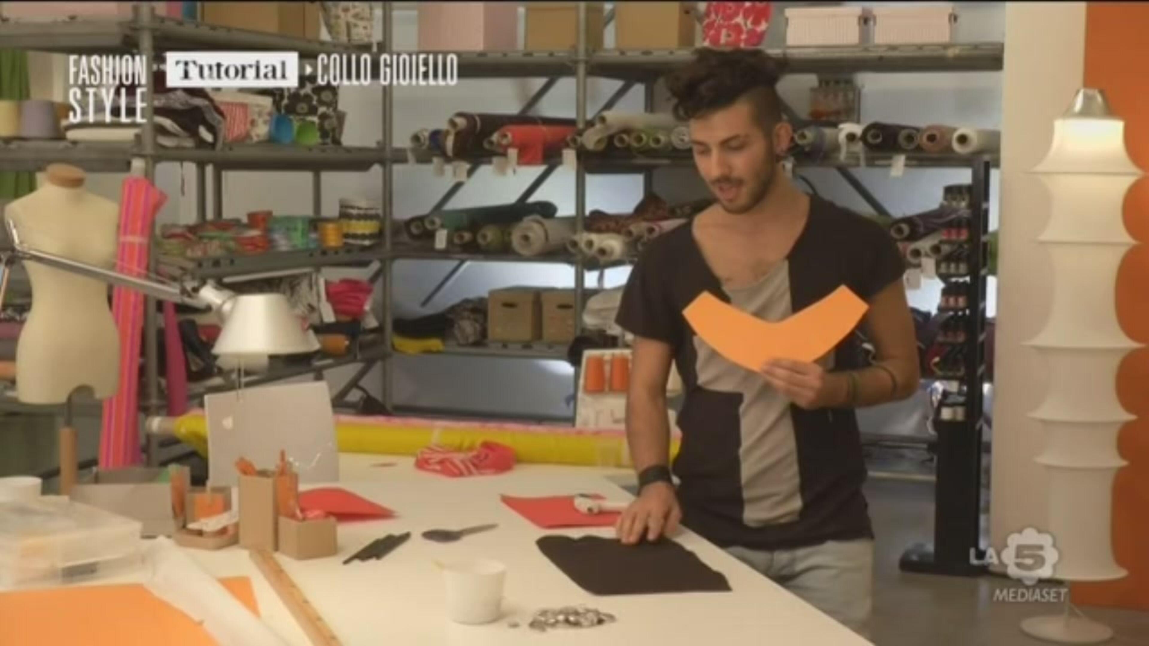 Fashion Style Tutorial Collo Gioiello 2 Video Mediaset