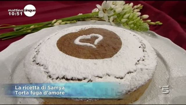 Le ricette di Samya: Torta fuga d'amore
