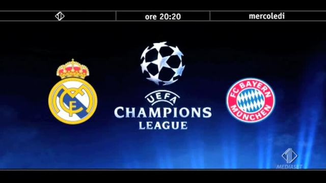 Stasera Real Madrid vs. Bayern Monaco